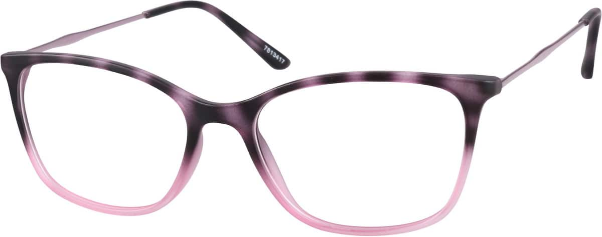 WomenFull RimMixed MaterialsEyeglasses #7813417
