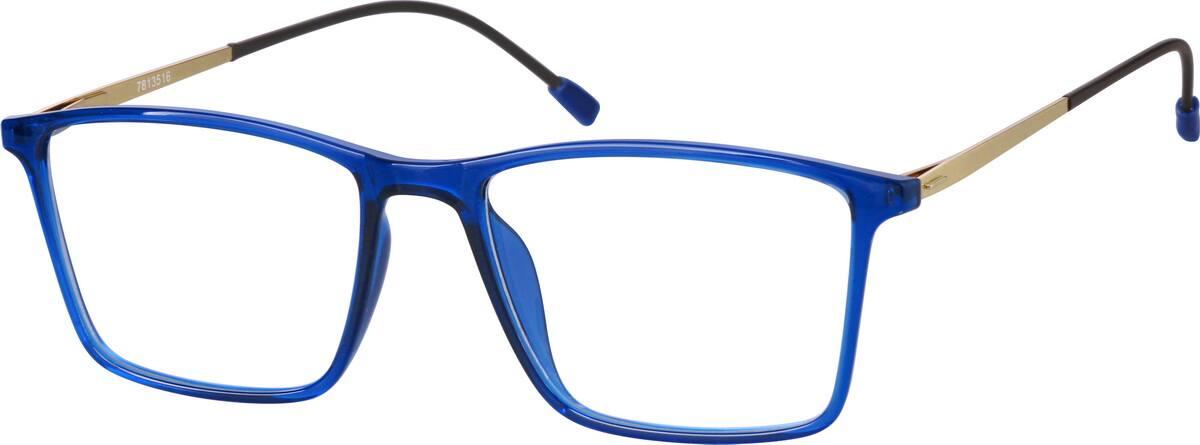 UnisexFull RimMixed MaterialsEyeglasses #7813512