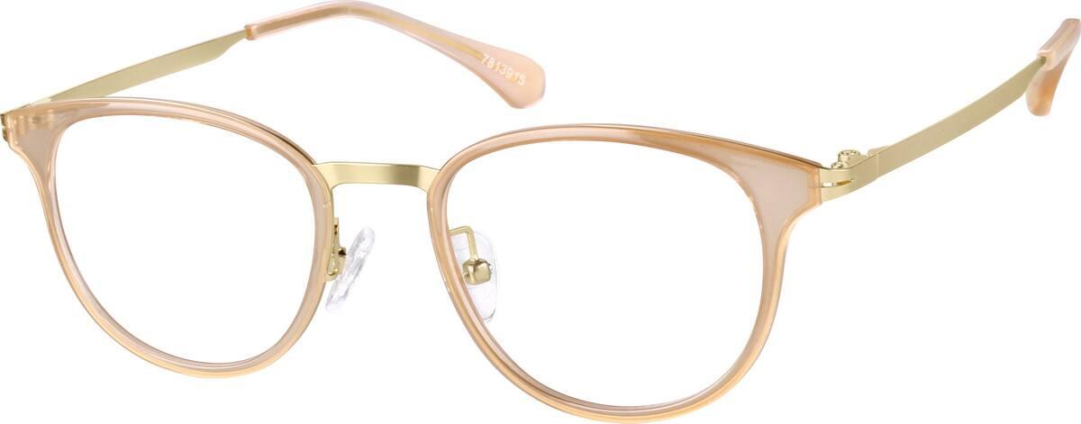 MenFull RimMixed MaterialsEyeglasses #7813915
