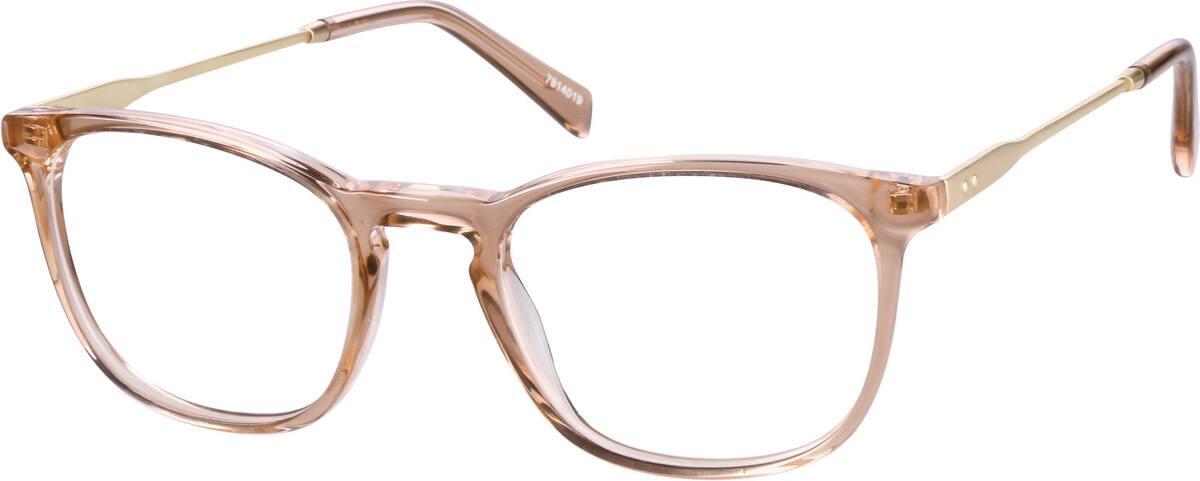 WomenFull RimMixed MaterialsEyeglasses #7814039