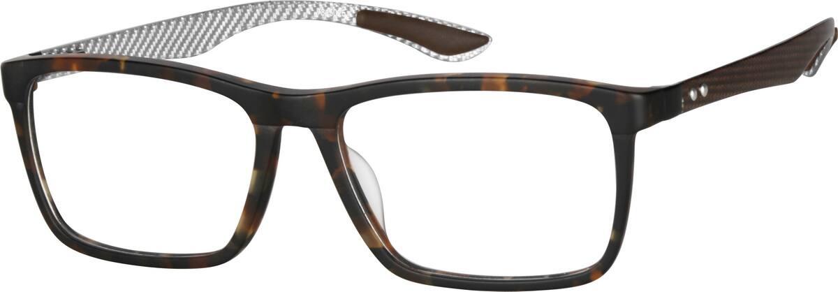 MenFull RimAcetate/PlasticEyeglasses #7815025