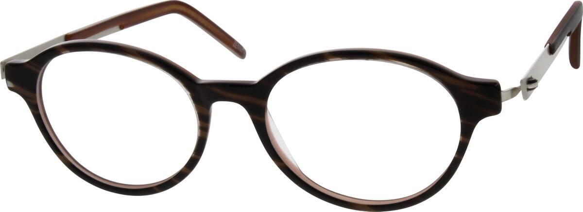 WomenFull RimMixed MaterialsEyeglasses #781826