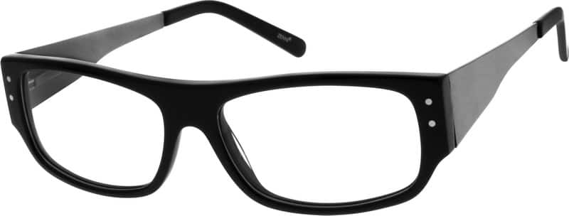 Men Full Rim Mixed Materials Eyeglasses #782125