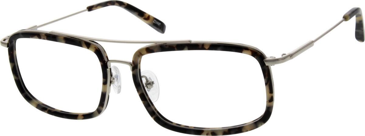 UnisexFull RimMixed MaterialsEyeglasses #782525