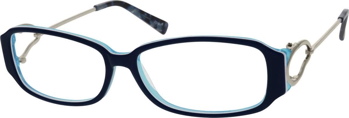 WomenFull RimMixed MaterialsEyeglasses #782618