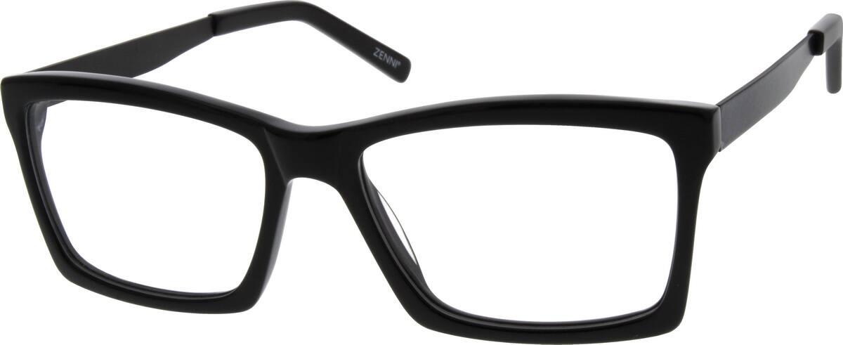 MenFull RimMixed MaterialsEyeglasses #782825