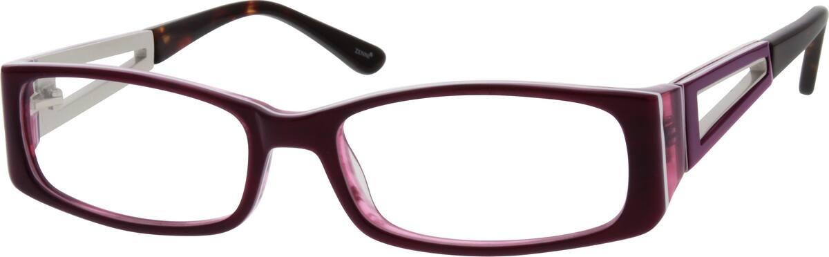 WomenFull RimMixed MaterialsEyeglasses #783117