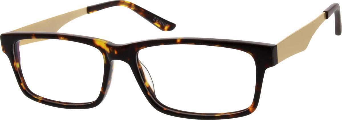 MenFull RimMixed MaterialsEyeglasses #783525
