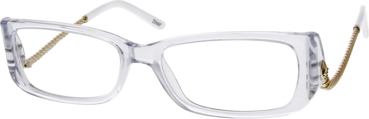 WomenFull RimMixed MaterialsEyeglasses #784916