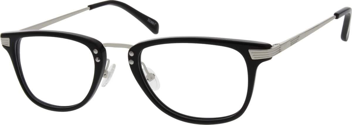 UnisexFull RimMixed MaterialsEyeglasses #785125