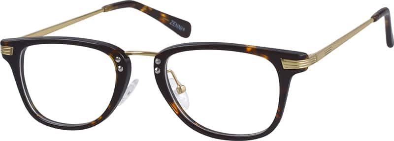 UnisexFull RimMixed MaterialsEyeglasses #785121