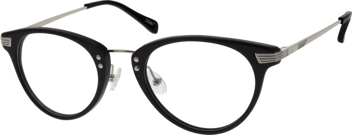 WomenFull RimMixed MaterialsEyeglasses #785221