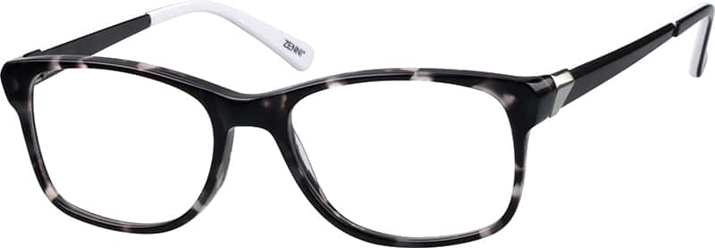 Men Full Rim Mixed Materials Eyeglasses #785731