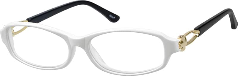 womens-full-rim-mixed-materials-rectangle-eyeglass-frames-786730