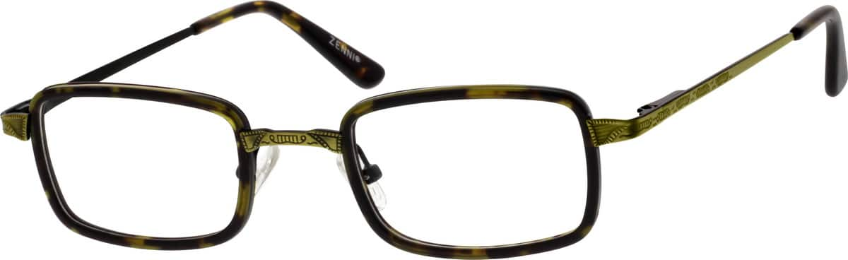 unisex-fullrim-mixed-materials-rectangle-eyeglass-frames-787125