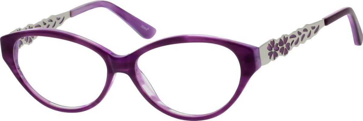 womens-full-rim-mixed-materials-cat-eye-eyeglass-frames-787617