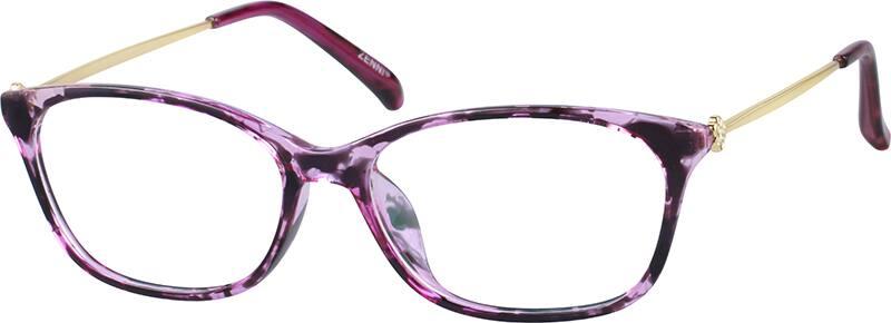 WomenFull RimMixed MaterialsEyeglasses #789417