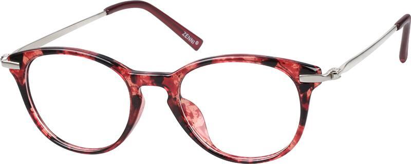 WomenFull RimMixed MaterialsEyeglasses #789718