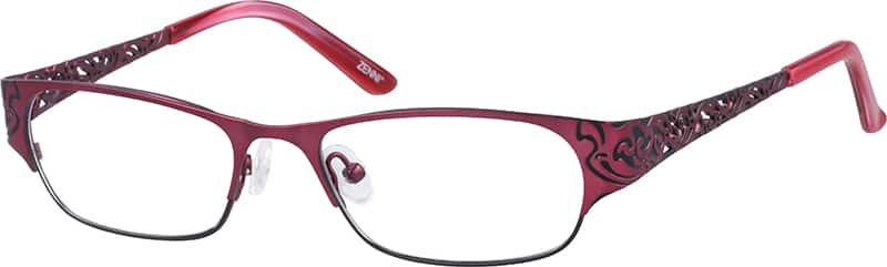 WomenFull RimStainless SteelEyeglasses #790318