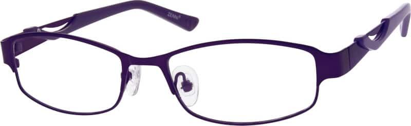 WomenFull RimStainless SteelEyeglasses #792417