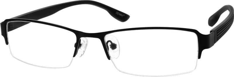 MenHalf RimMixed MaterialsEyeglasses #792621