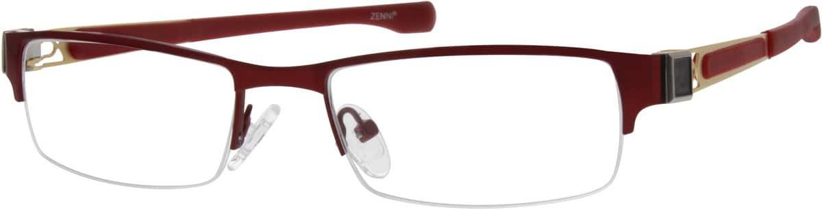 WomenHalf RimStainless SteelEyeglasses #794018