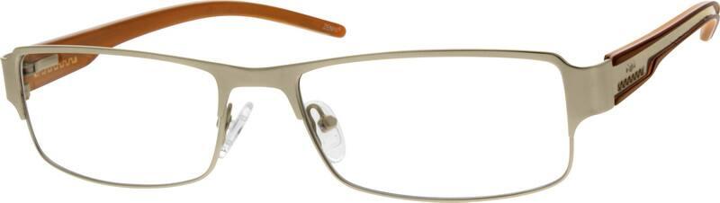 MenFull RimStainless SteelEyeglasses #794114