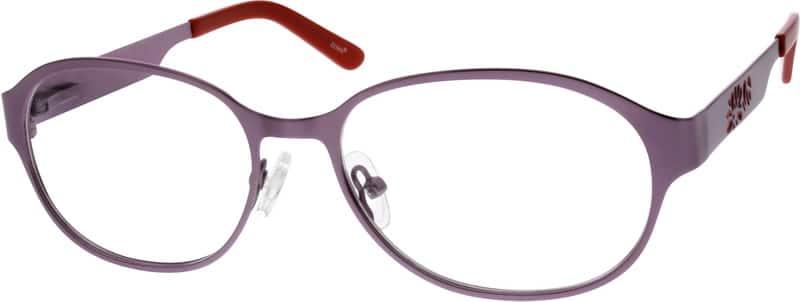 WomenFull RimStainless SteelEyeglasses #796311