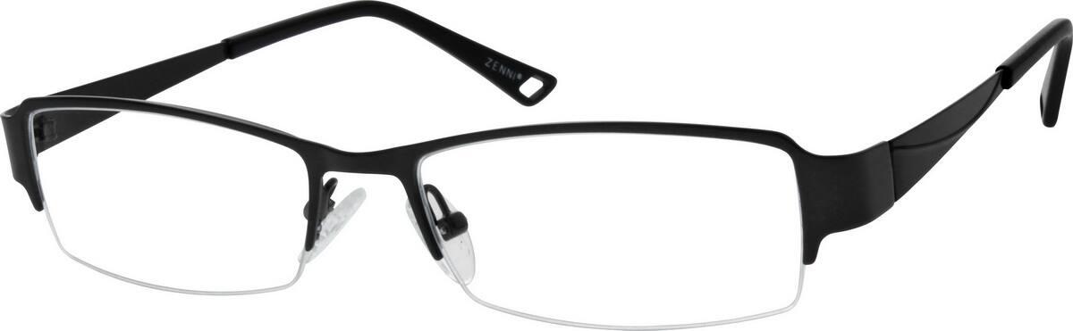 MenHalf RimStainless SteelEyeglasses #797116