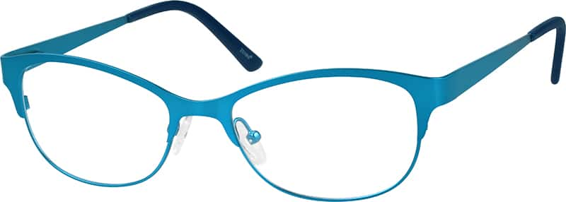 Women Full Rim Stainless Steel Eyeglasses #797516