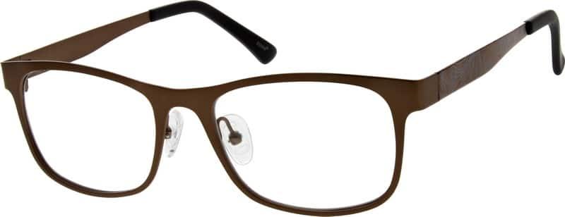 UnisexFull RimStainless SteelEyeglasses #797821