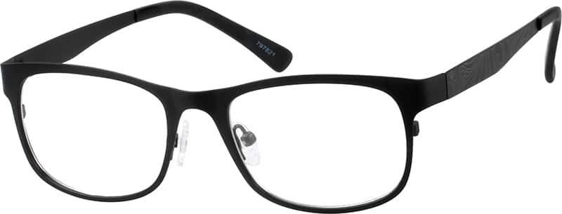 UnisexFull RimStainless SteelEyeglasses #797815
