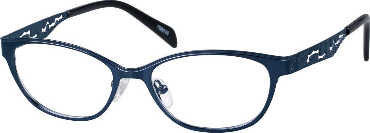WomenFull RimStainless SteelEyeglasses #798016