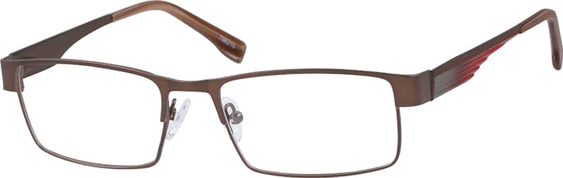 Stainless Steel Full Rim Frame With Spring Hinges