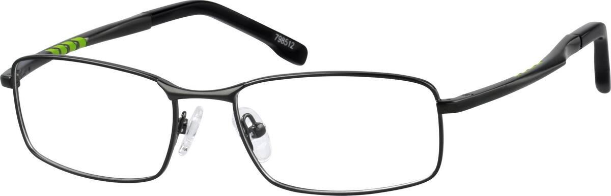 MenFull RimStainless SteelEyeglasses #798515