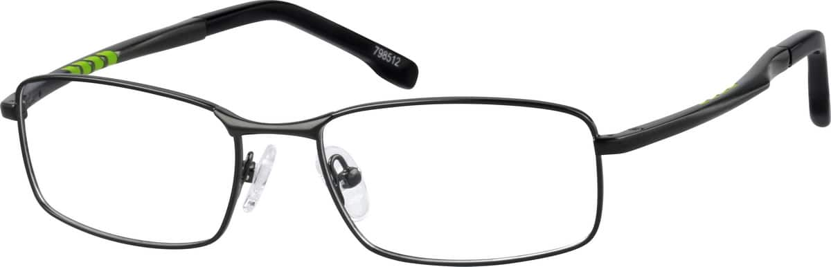 Stainless steel Full-Rim Frame with Spring Hinges