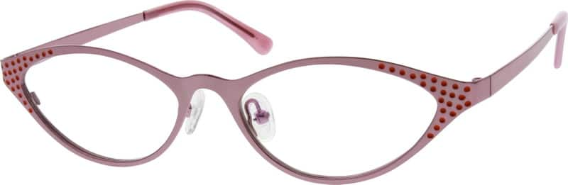 Women Full Rim Stainless Steel Eyeglasses #798721