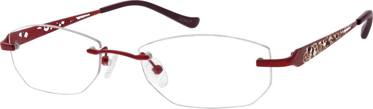 WomenRimlessStainless SteelEyeglasses #798919