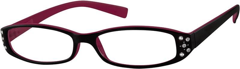 WomenFull RimAcetate/PlasticEyeglasses #803322