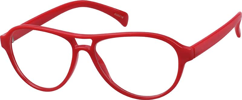 Red 8060 Plastic Full-Rim Frame (Same Appearance as Frame #2360)