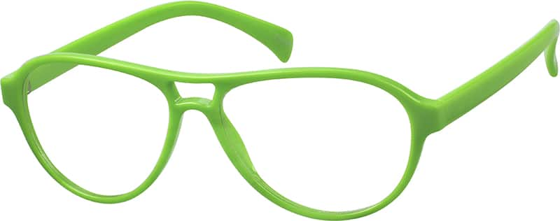 Green 8060 Plastic Full-Rim Frame (Same Appearance as Frame #2360)