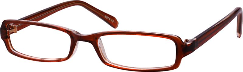 Stylish Plastic Full-Rim Frame (Same Appearance as Frame #3371)