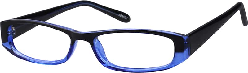 Plastic Full-Rim Frame (Same Appearance as Frame #3386)