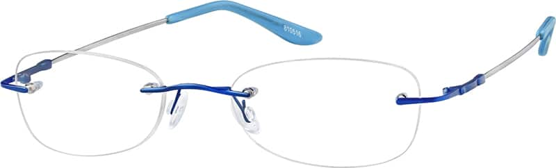 Rimless Flexible (Memory) Titanium (Same Appearance as Frame #2105)