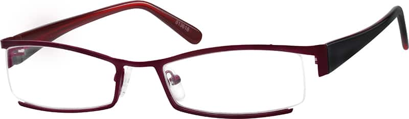 813618-stainless-steel-partial-rim-frame-with-acetate-temples-same-appearance-as-frame-7136
