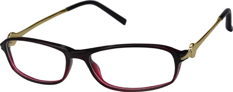 Glasses Frames Same Day : Red Full Rim Plastic Frames (Same Appearance as Frame ...