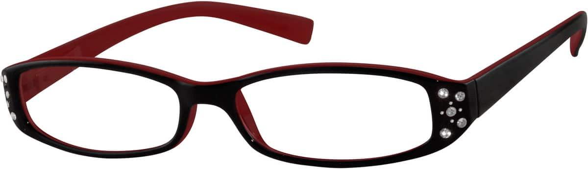 WomenFull RimAcetate/PlasticEyeglasses #827318