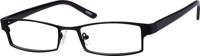 Men Full Rim Mixed Materials Eyeglasses #830512
