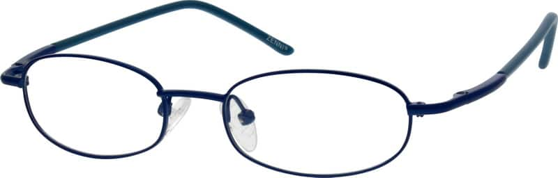 Unisex Full Rim Metal Eyeglasses #850811