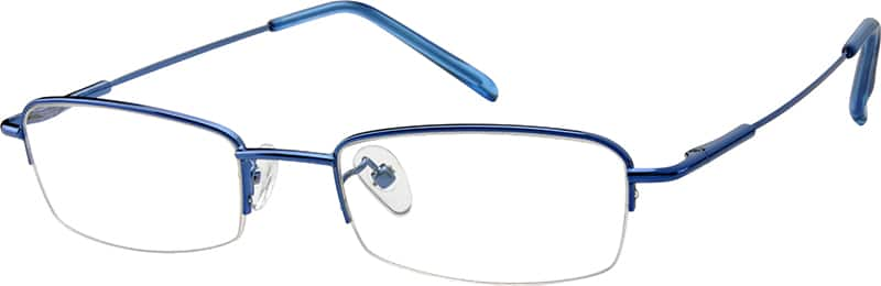 MenHalf RimStainless SteelEyeglasses #864516